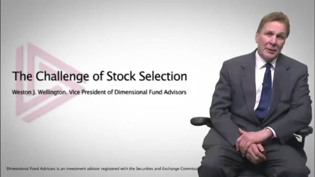 The Perils of Selecting Individual Stocks